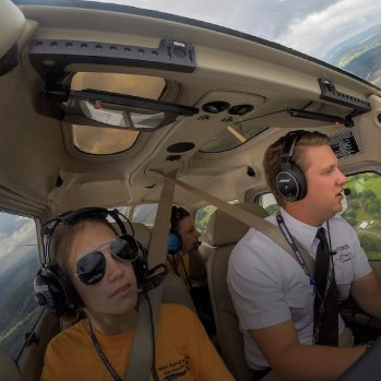 Kent State student flies any airplane