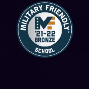 Kent State University Military Friendly School Bronze Level